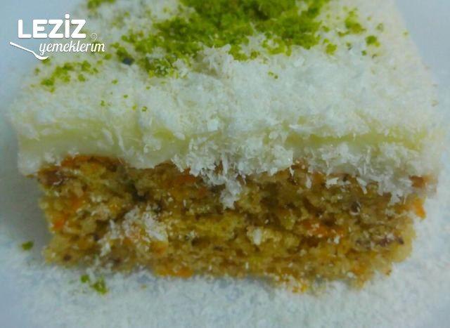 Havuçlu Pasta Yapımı