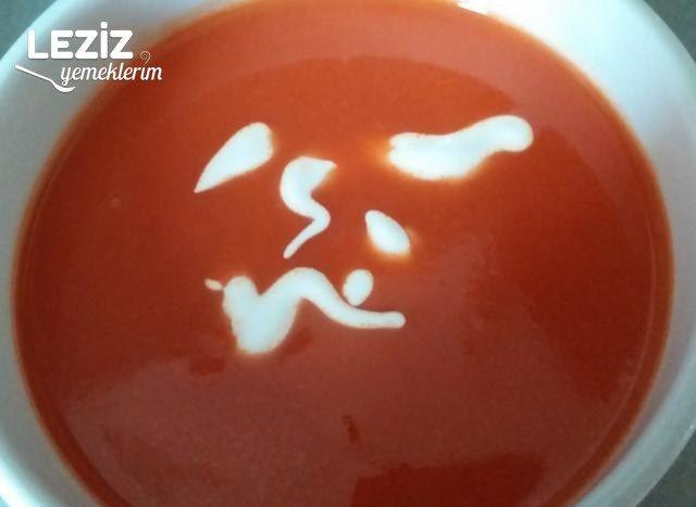 Kolay Domates Çorbası