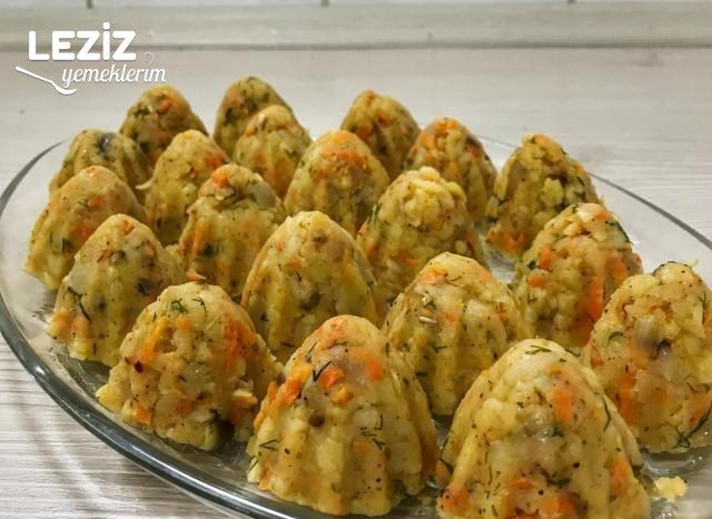 Patatesli Havuçlu Toplar