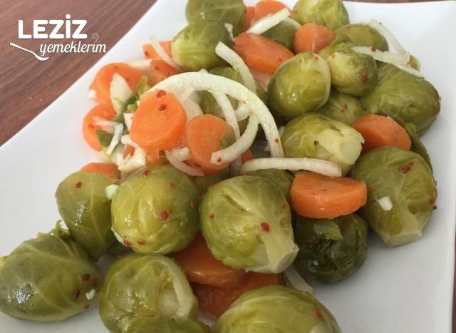 Bürüksel Lahanası Salatası Tarifi