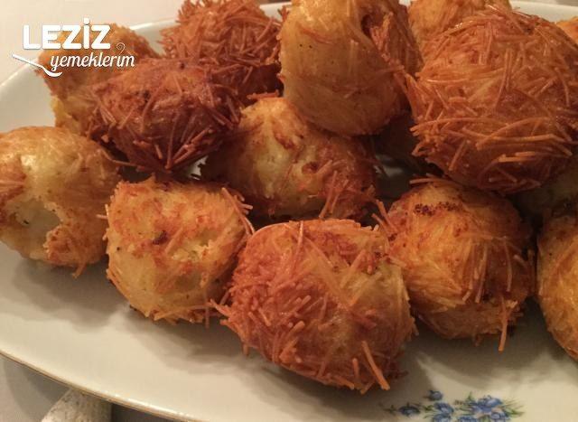 Tel Şehriyeli Patates Köftesi