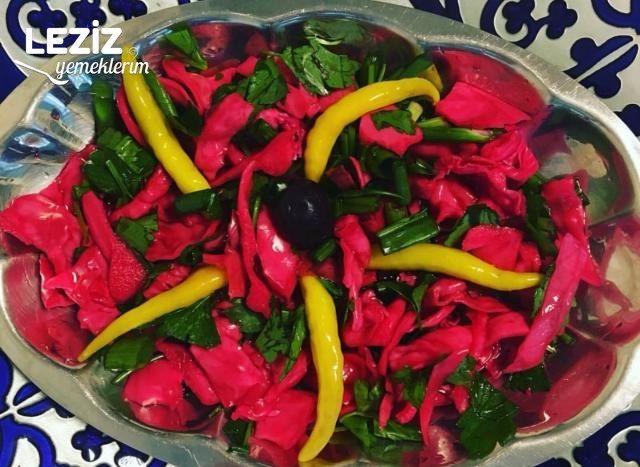 Süper Renkli Salata