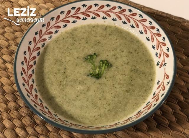 Sütlü Brokoli Çorbası Yapılışı