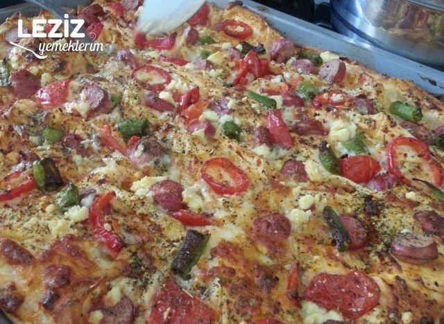 Pizza Börek (Ev Yapımı)