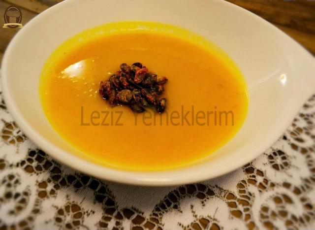 Baharatlı Kabak Çorbası