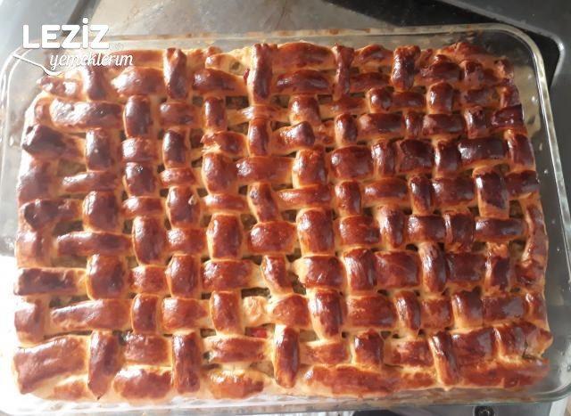 Patatesli Hasır Örgü Börek (Mutlaka Deneyin)