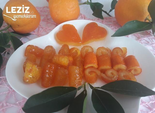 Portakal Ve Turunç Kabuğu Reçeli