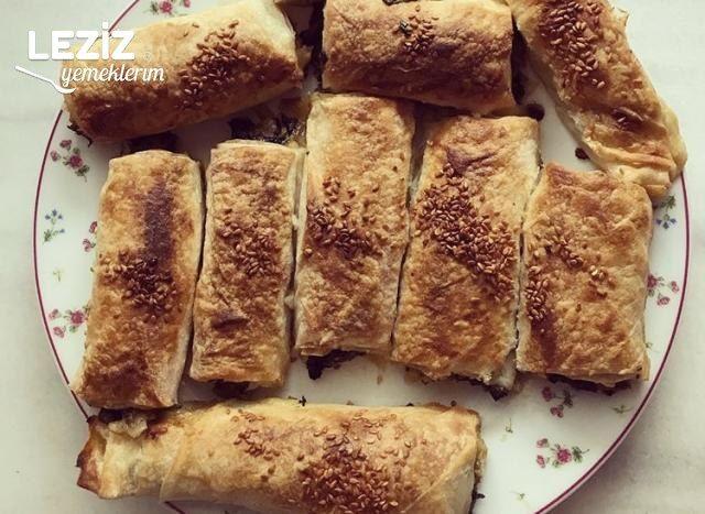 Ispanaklı Pastane Böreği