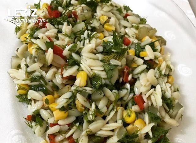 Arpa Şehriye Salatası Yapılışı