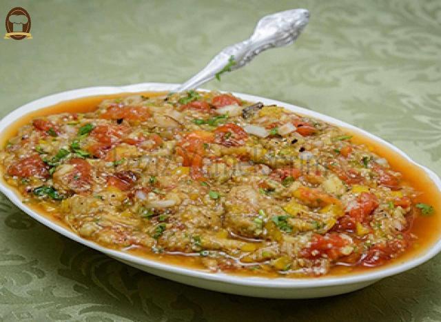 Sebzeli Patlıcan Salatası Tarifi