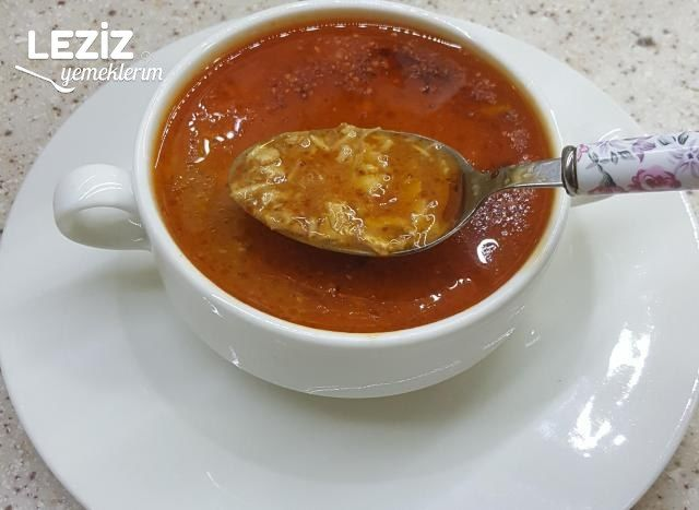 Tavuk Çorbası Yapımı