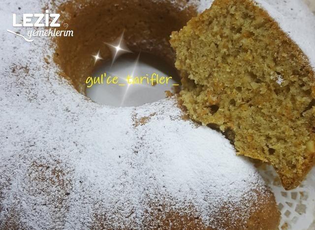 Havuçlu Kek Yapımı (Tam Ölçü)