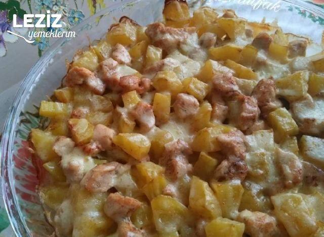 Fırında Tavuk Patates Yemeği