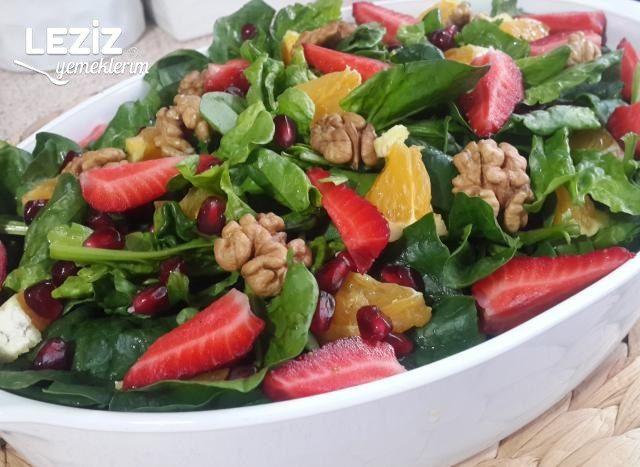 Meyveli Bebek Ispanak Salatası
